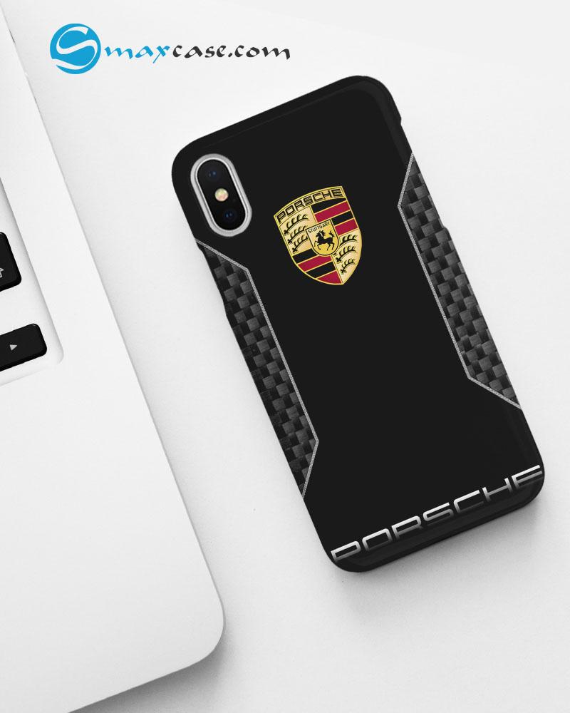 Porsche Carbon Logo New Phone Case Apple iPhone Series.