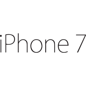iPhone 7 logo, Vector Logo of iPhone 7 brand free download (eps, ai.