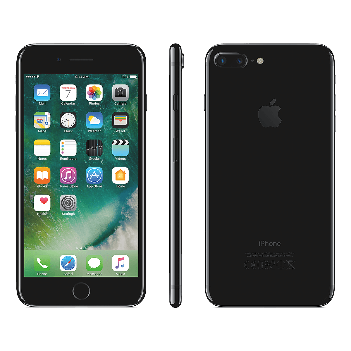 Apple iPhone 7 Plus black.