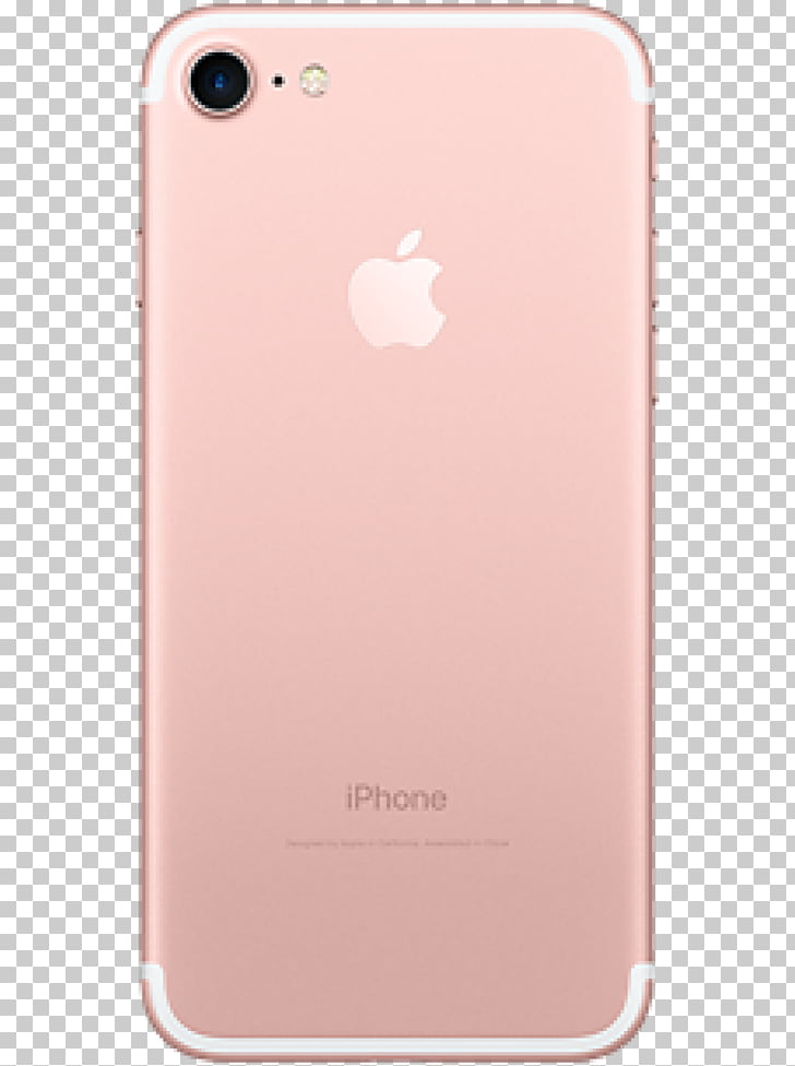 Apple iPhone 7 Plus rose gold, apple PNG clipart.