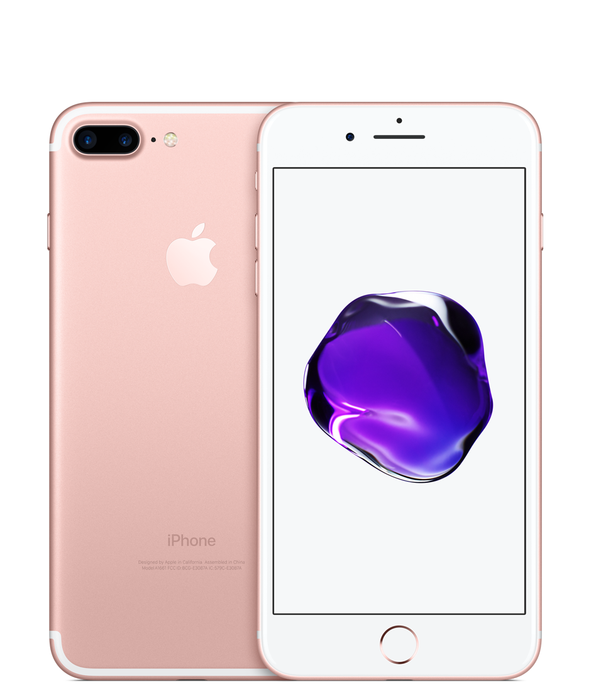 iPhone 7 Plus 128GB Rose Gold (GSM) AT&T.
