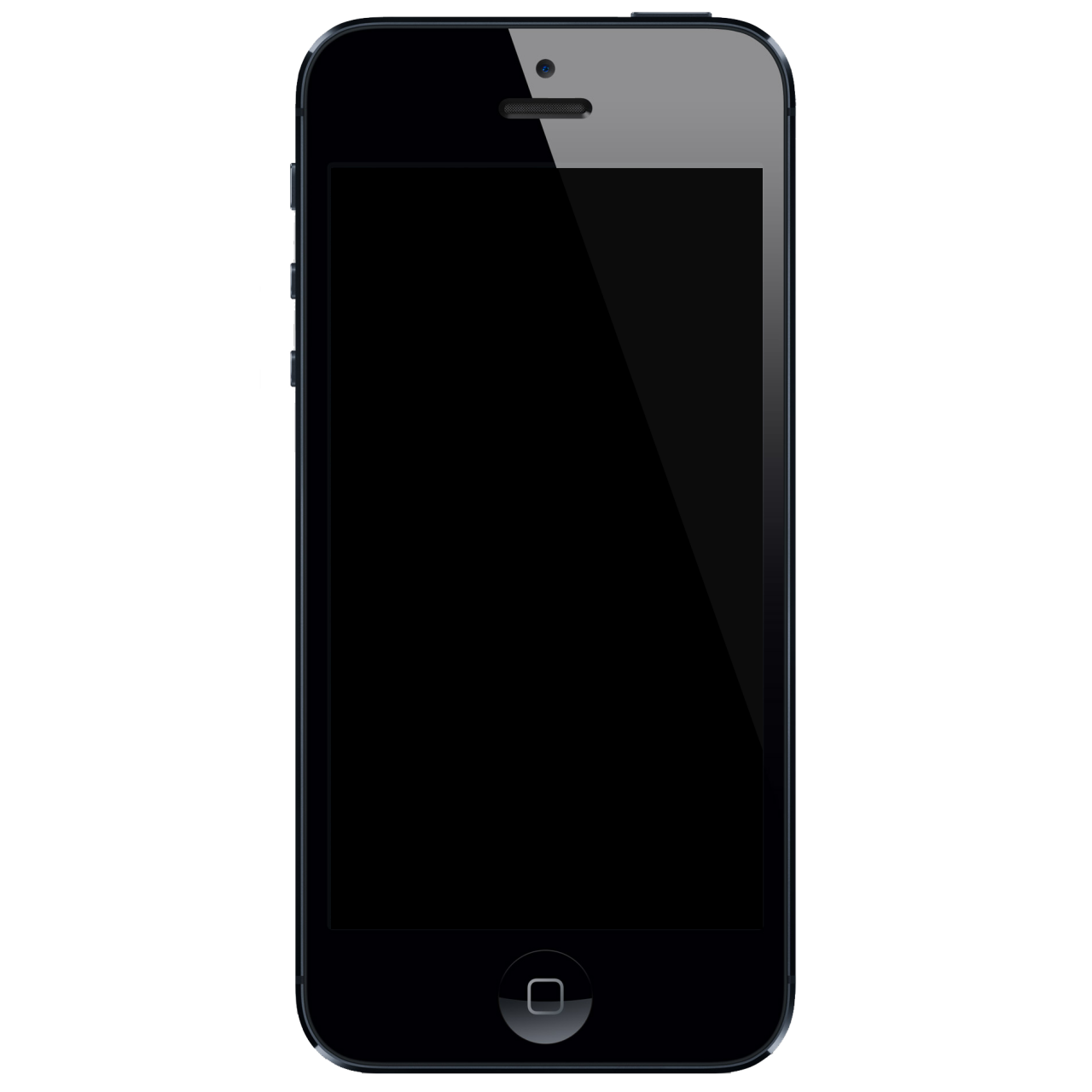 Black iphone 7 png #34206.