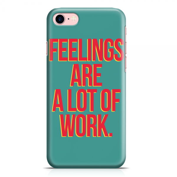 iPhone 7 Case Case Feelings Phone Case Hardwork.