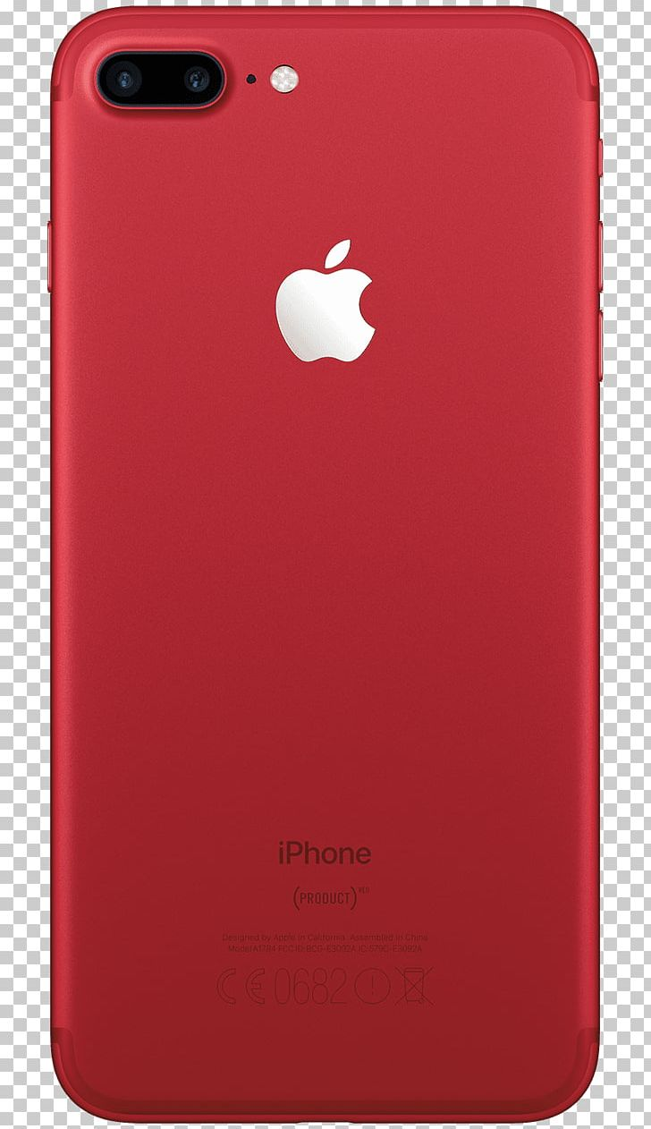 Apple IPhone 7 Plus Product Red Telephone PNG, Clipart, 7.