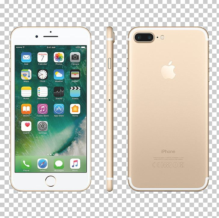 IPhone 7 Plus Apple Telephone Rose Gold PNG, Clipart, Apple.