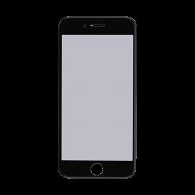 iPhone 7 Black Glass Lens Screen, Frame, OCA and Polarizer Assembly.