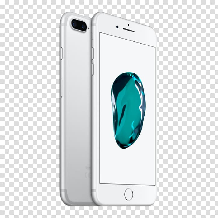 Apple iPhone 7 Plus IPhone 8 silver, others transparent.