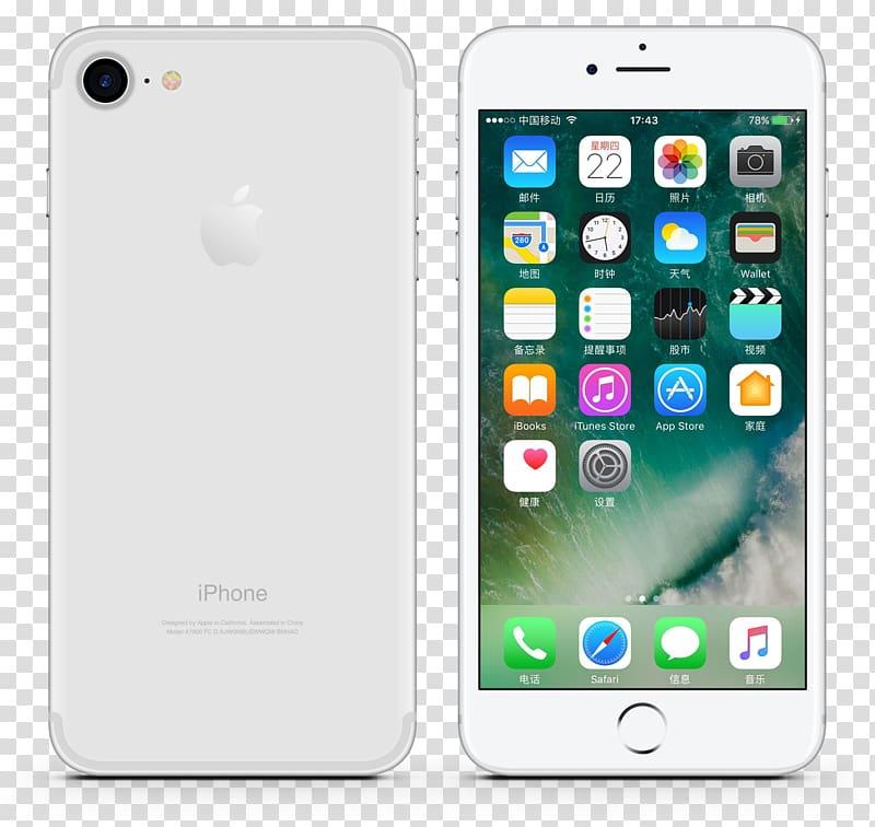 IPhone 4 iPhone 6S iPhone 6 Plus Telephone iPhone 7, Silver.
