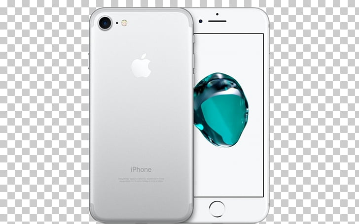 IPhone 7 Plus Telephone Silver 4G, apple iphone PNG clipart.
