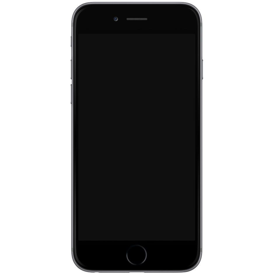 iPhone 7 PNG Transparent Free Images.