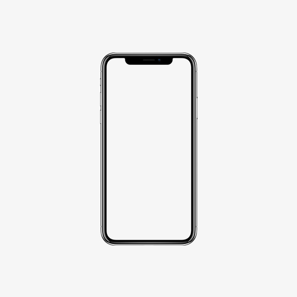 Iphone 8 Plus Clipart.