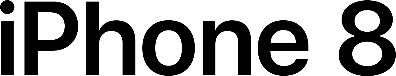 File:IPhone 8 Wordmark.svg.