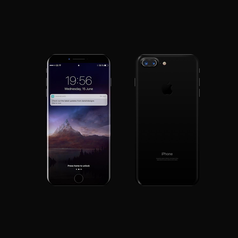 iPhone 8 Mockup PSD.