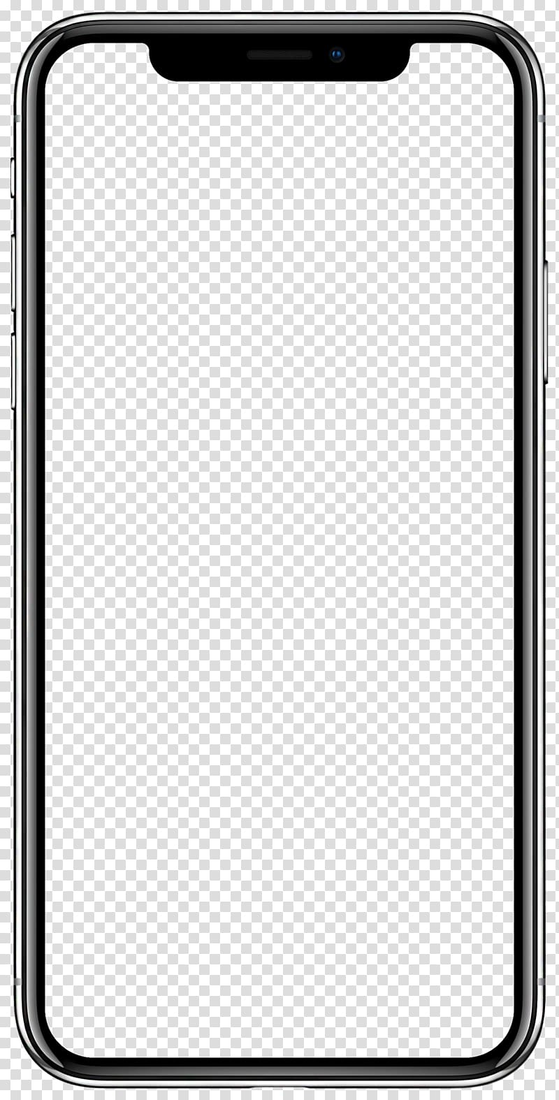 IPhone frame illustration, iPhone X App Store Apple iOS 11.