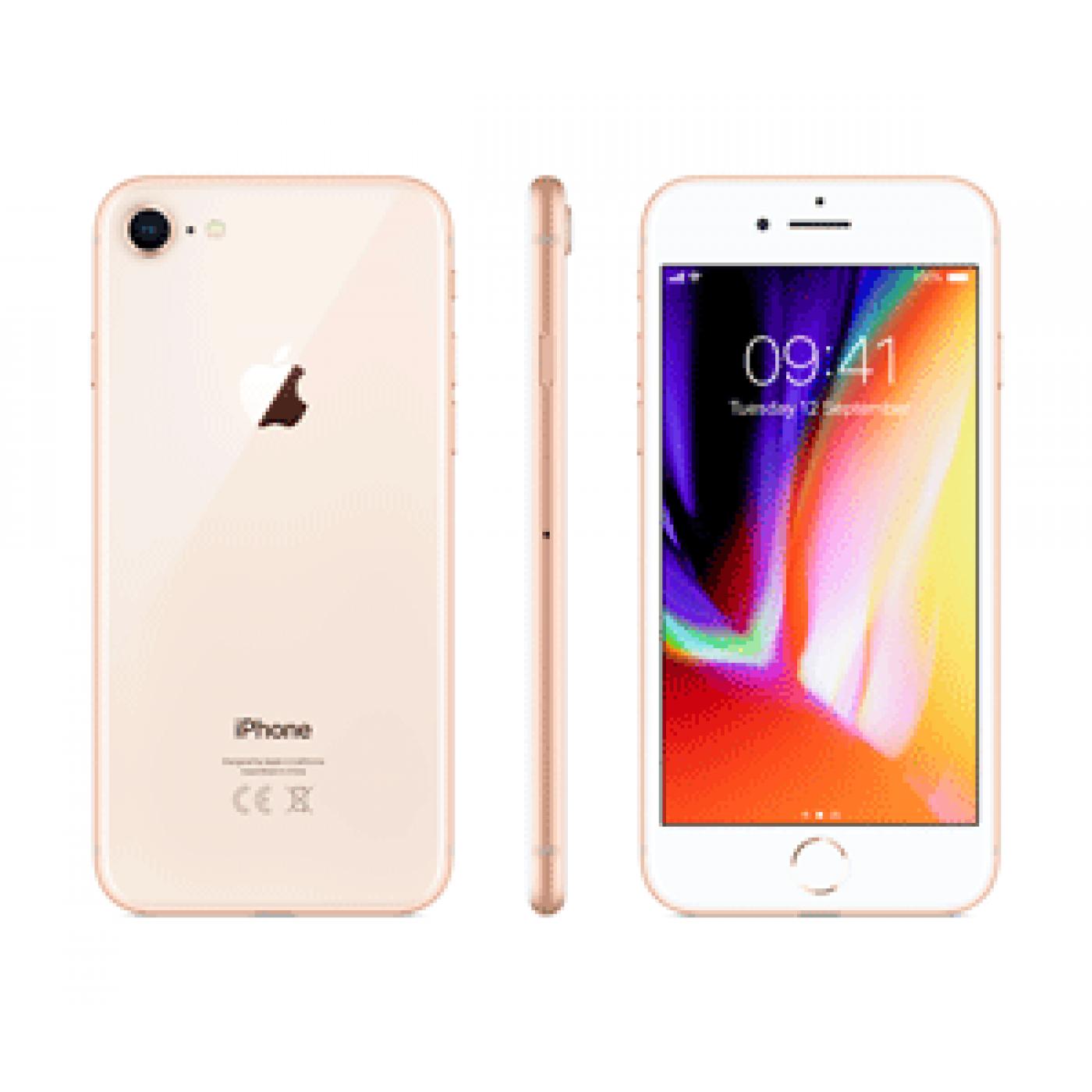 Apple iPhone 8 64GB Cellphone Gold.