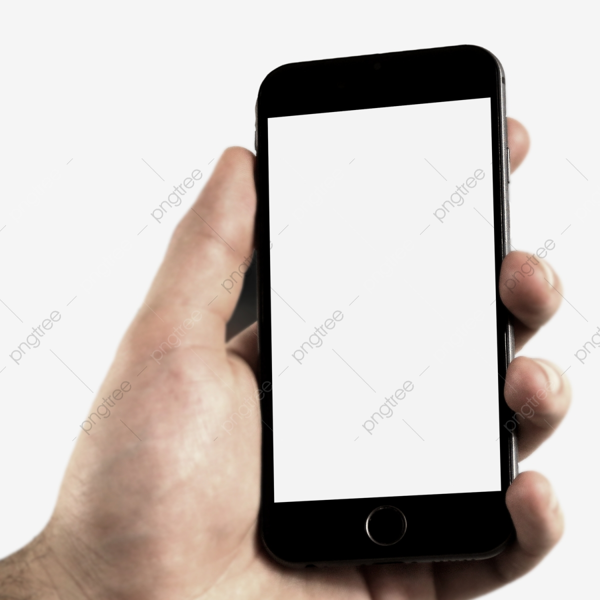 Iphone 8 In Hand Mockup, Mobile, Phone, Replenishing PNG Transparent.
