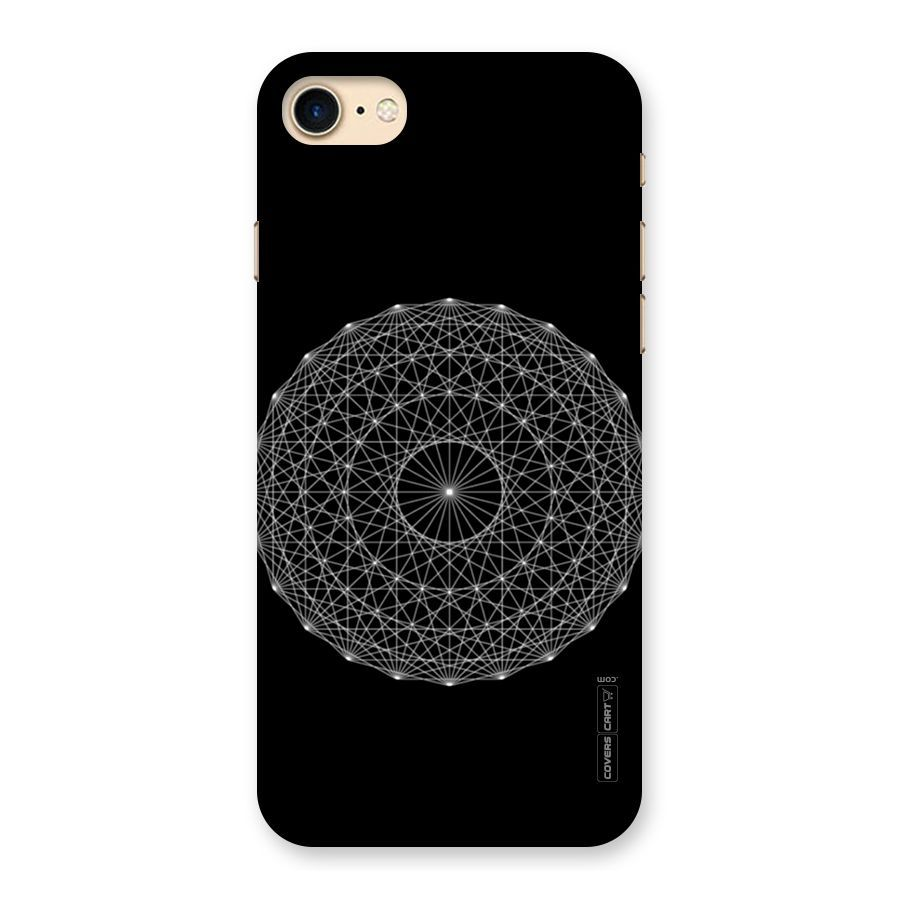 Black Clipart Back Case for iPhone 7.