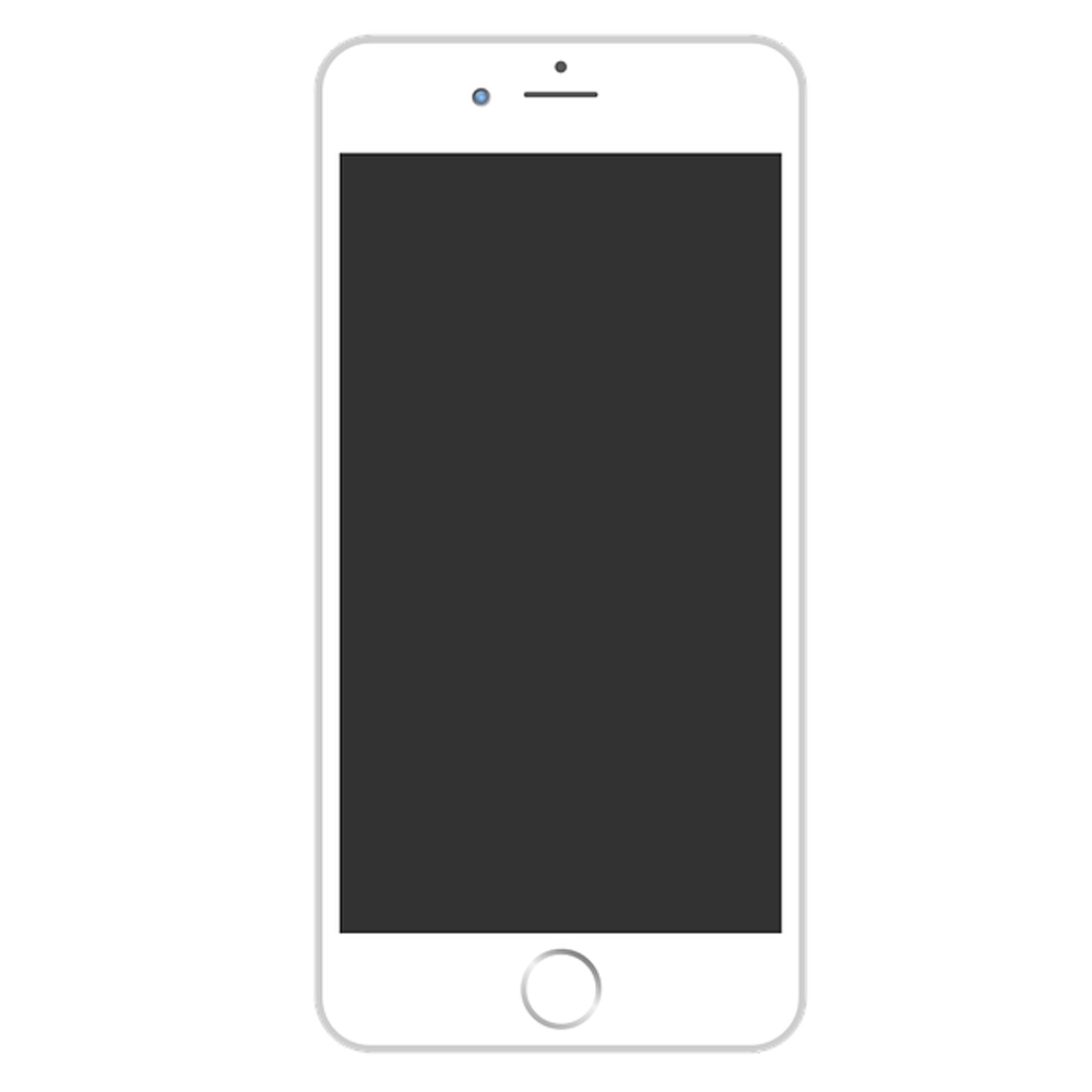 iPhone PNG with Transparent Background.