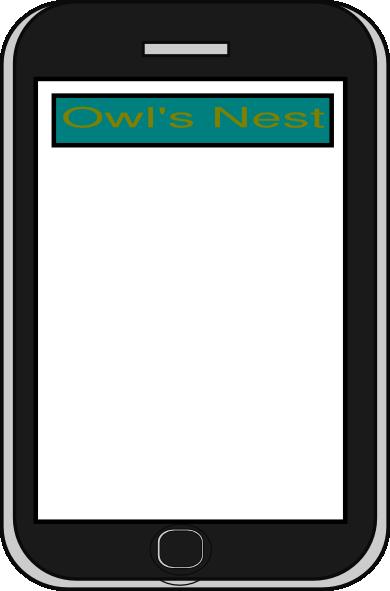 Iphone Badge App Clipart.