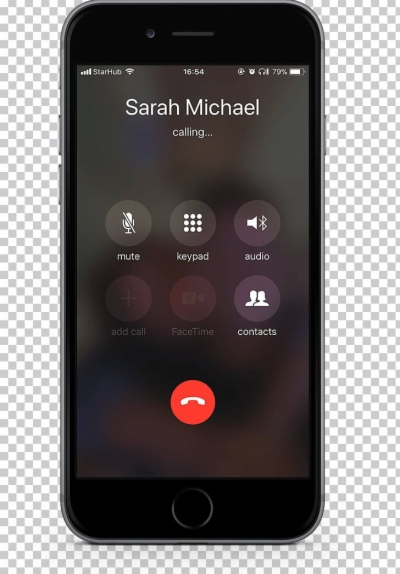 iphone call.