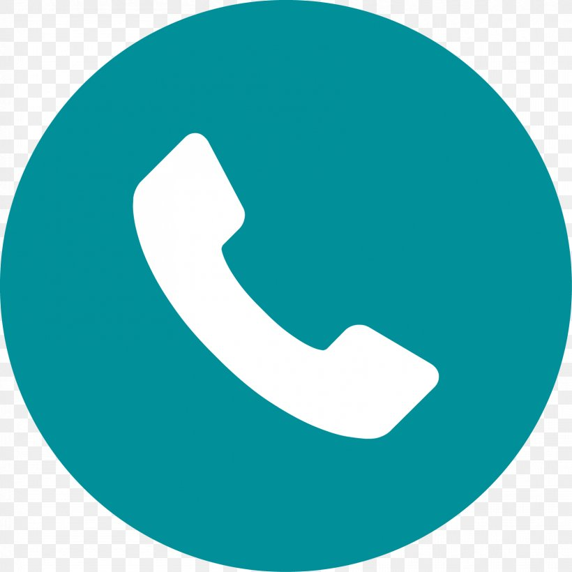 Telephone Call Icon, PNG, 1667x1667px, Telephone, Aqua, Blue.
