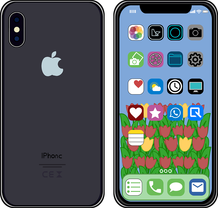 Graphic Iphone X Mobile.