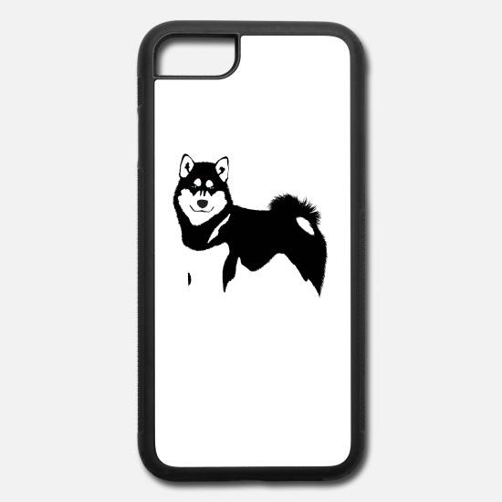 Alaskan Malamute Clipart iPhone Case flexible.