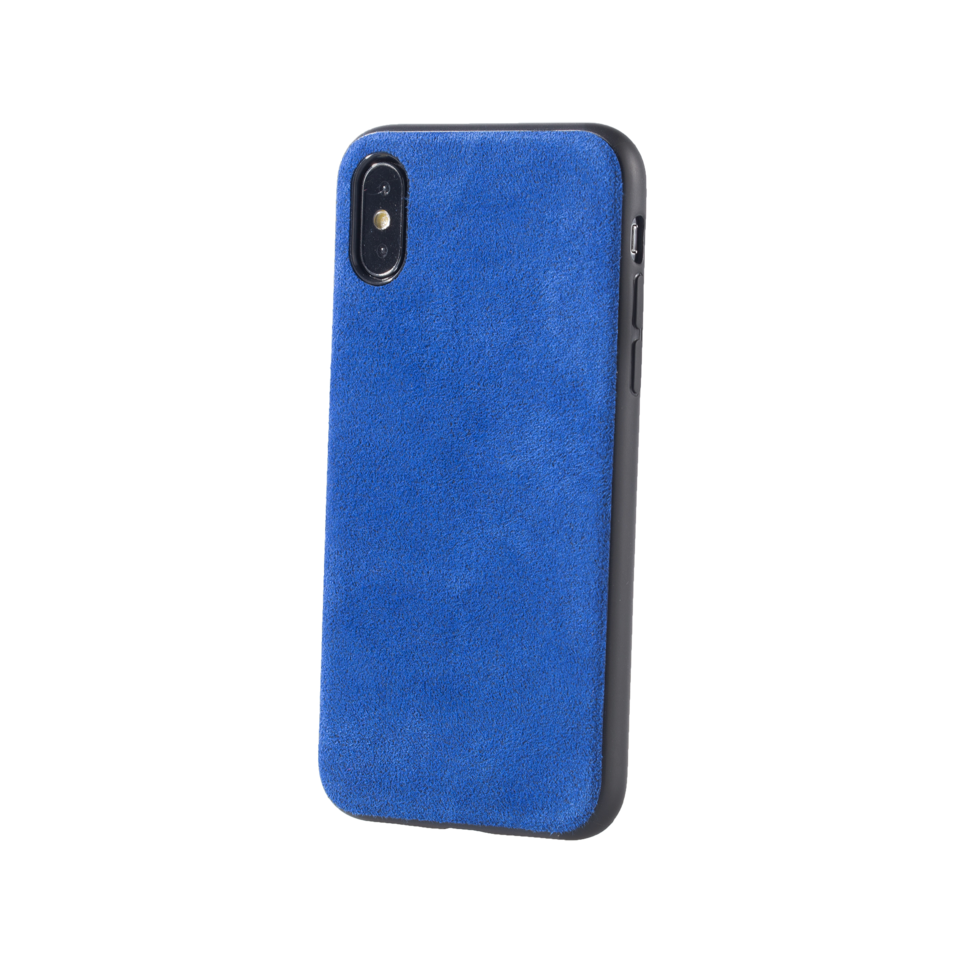 Custom Alcantara iPhone X Case.