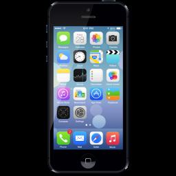 Clip Art Of Iphone 5 C Clipart.