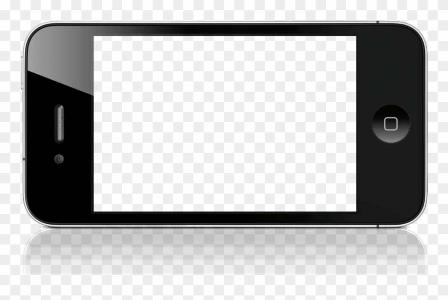 Iphone Clipart Black And White Free Download Png.