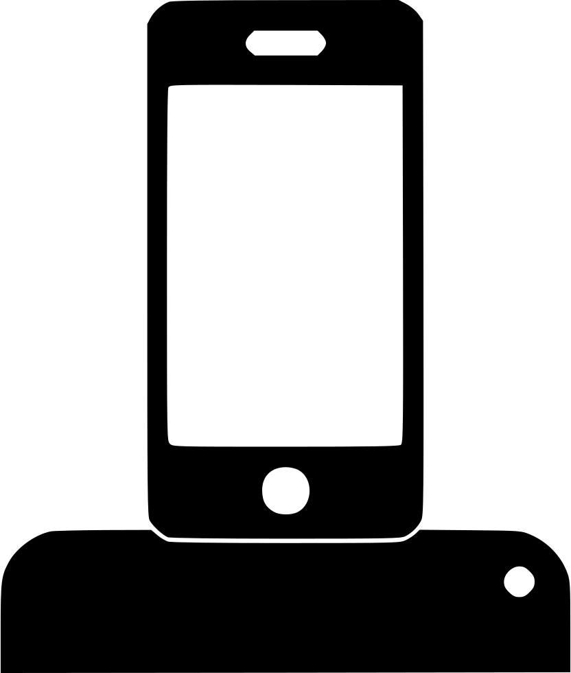 Dock Station Iphone Svg Png Icon Free Download (#476131.
