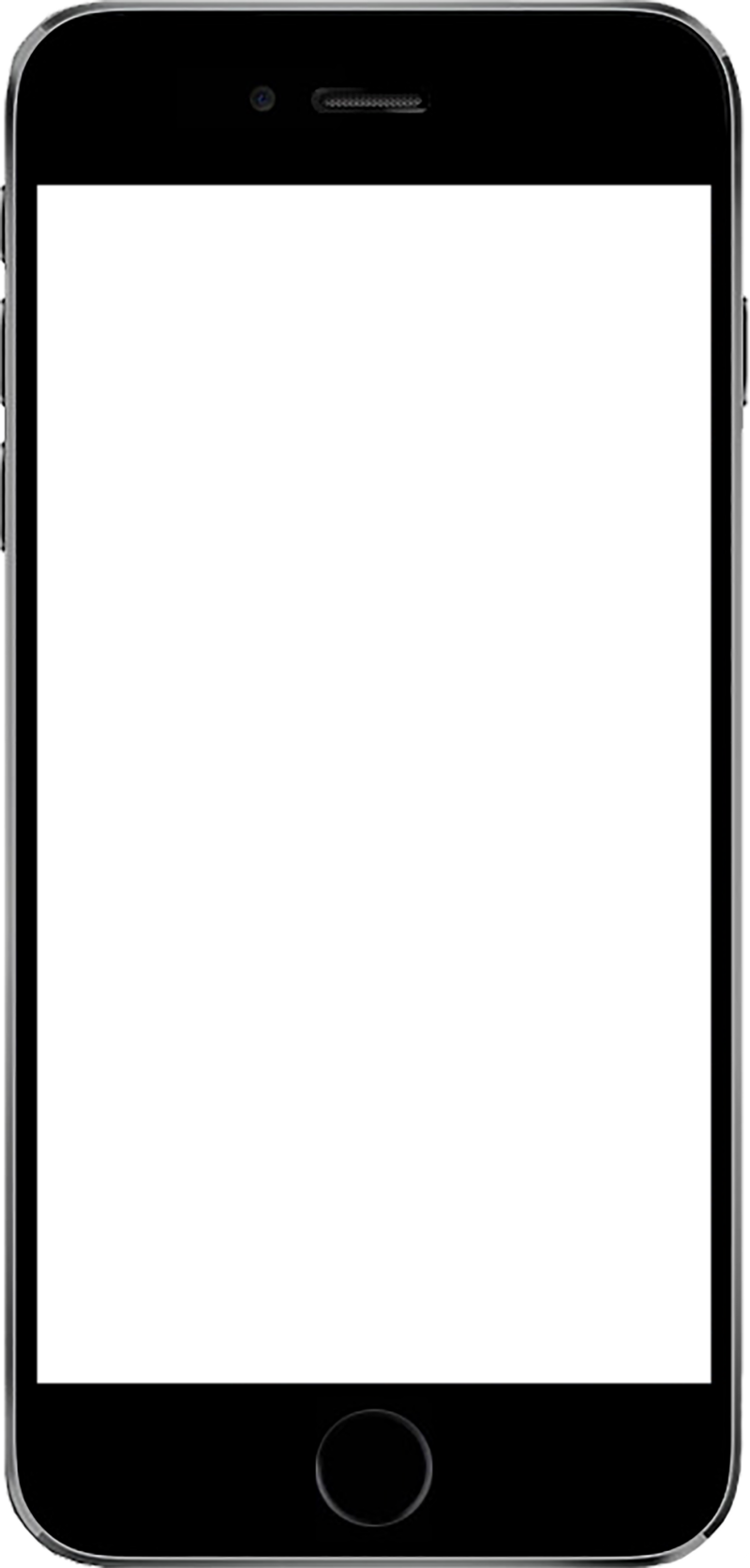 HD White Iphone 4 Png.
