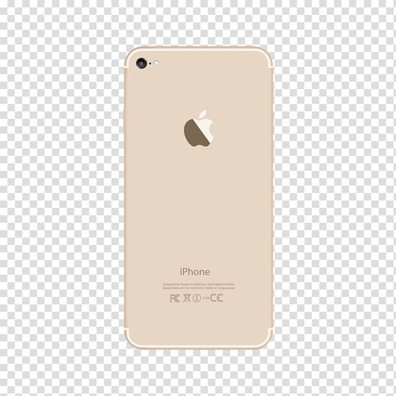 Gold iPhone 7, Smartphone Mobile phone accessories Rectangle.