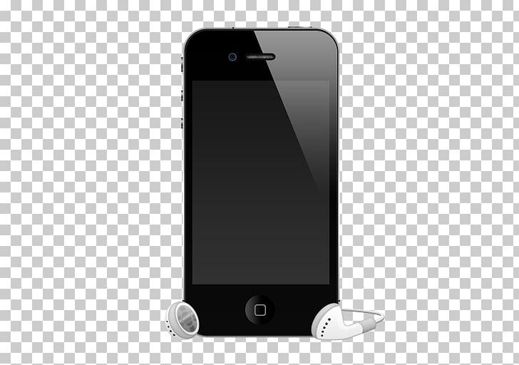 IPhone 4S Apple earbuds Headphones, headphones PNG clipart.
