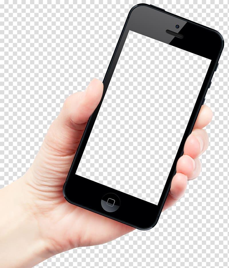 IPhone 6 Plus Smartphone Telephone, Hand Holding Smartphone.