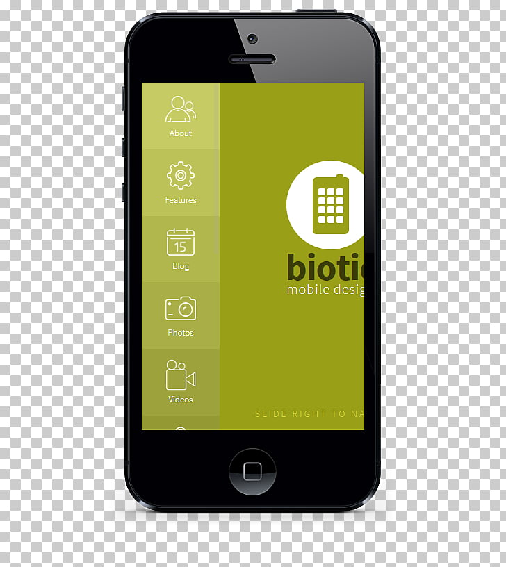 User interface design Mobile app iPhone, creative menu PNG.