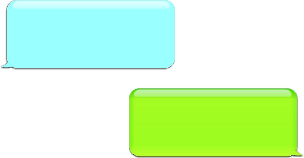 Empty Text Bubble.