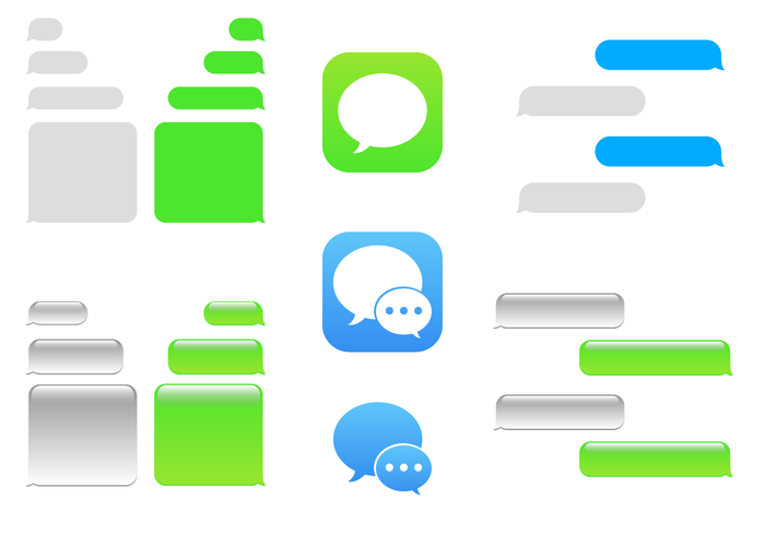 Free IMessage Vector.