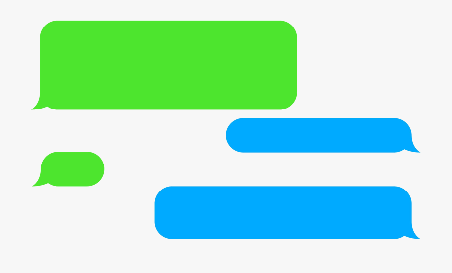 Iphone Text Message Png, Cliparts & Cartoons.