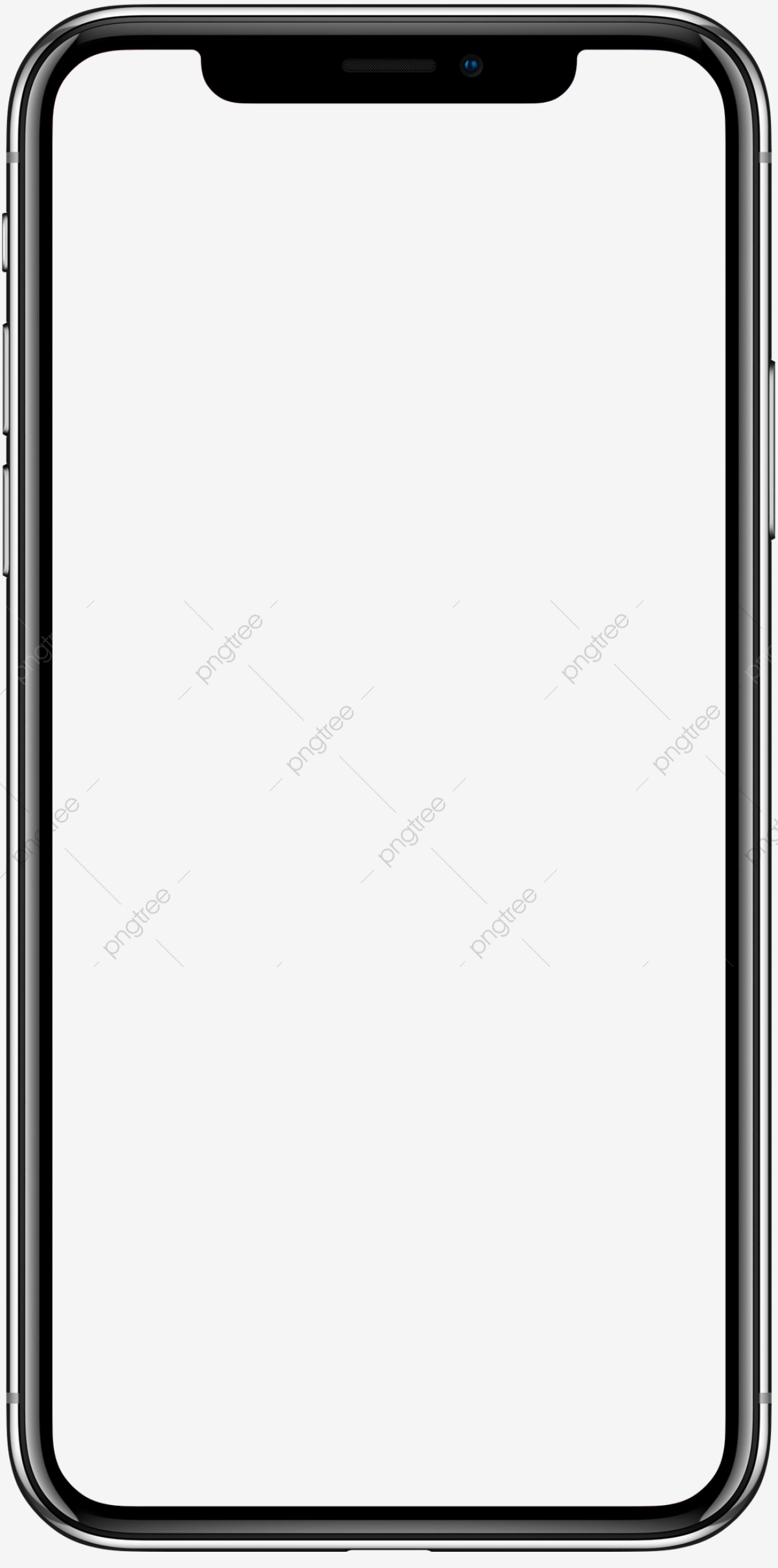 Iphone X Mockup, Prototype, Drawing, Mobile PNG Transparent Clipart.
