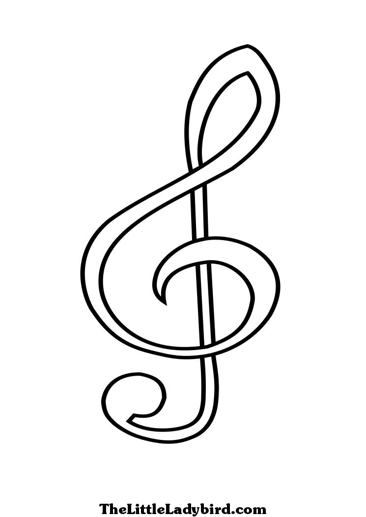 Musical Notes Coloring Pages Pages Iphone Coloring Musical Notes.