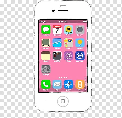 Overlays, white iPhone transparent background PNG clipart.