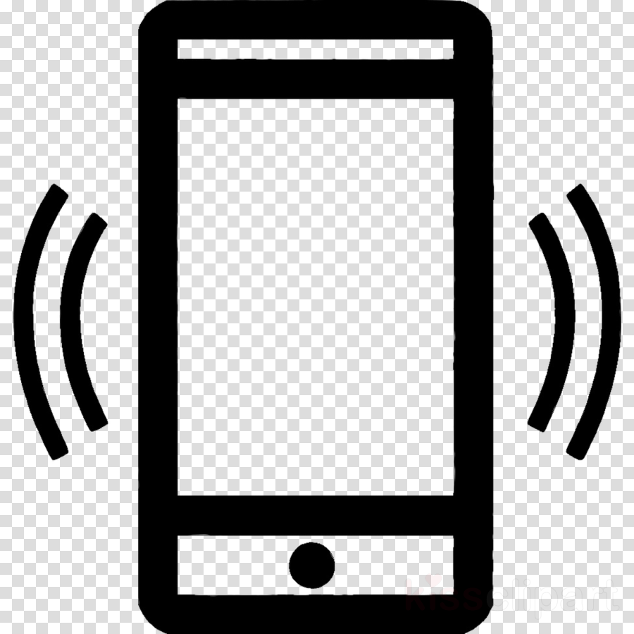 Cell Phone Icon clipart.