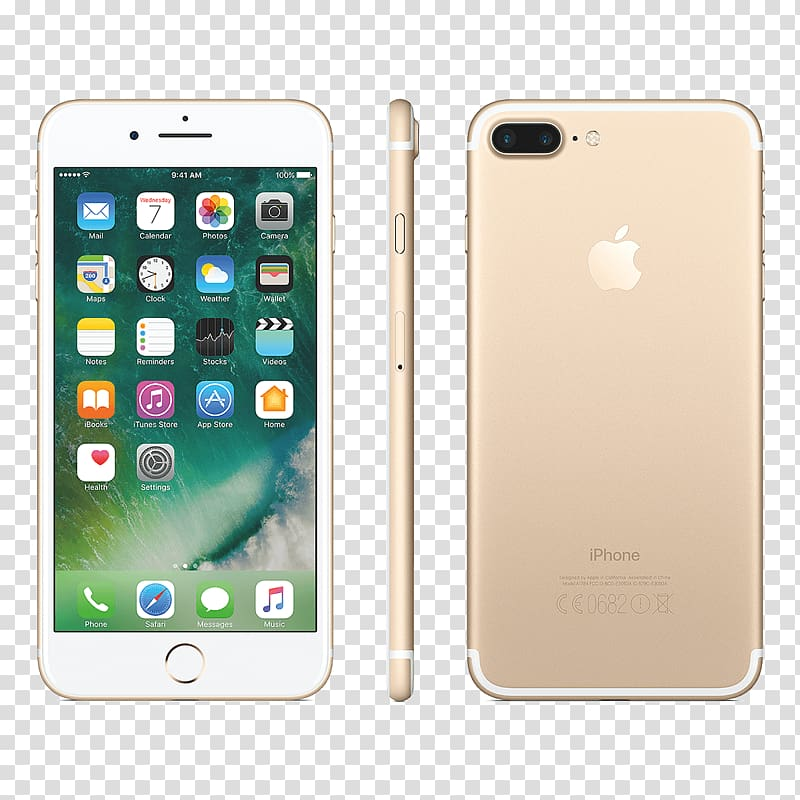 IPhone 7 Plus Apple Telephone Rose Gold, apple products.