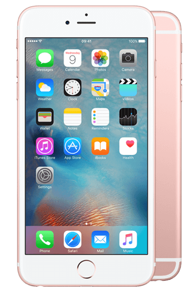 iPhone 6s Plus 32GB Rose Gold.