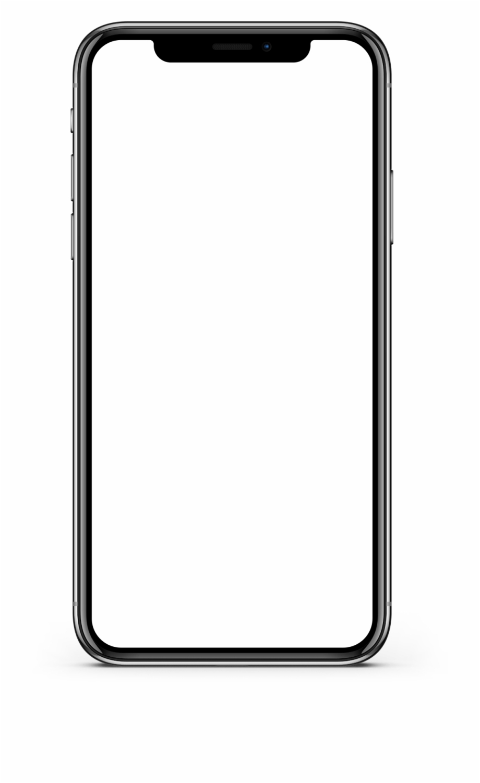Download Iphone X Screen Mockup Transparent Png.