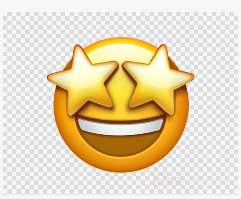 Iphone Heart Eye Emoji Clipart Emoji Iphone.
