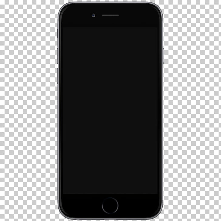 Iphone 7 Template, space gray iPhone 6 PNG clipart.