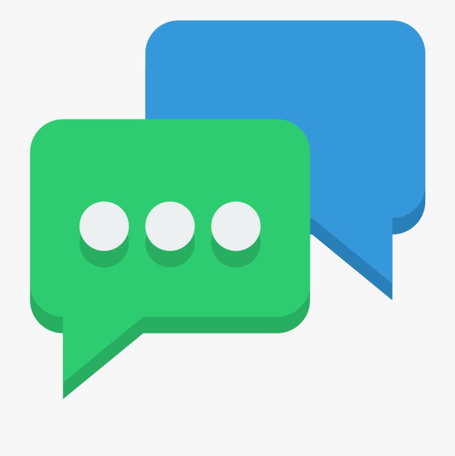 Transparent Iphone Text Bubble Png.