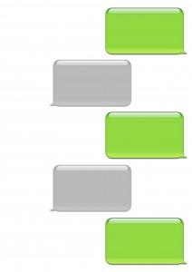 Iphone text bubble clipart.